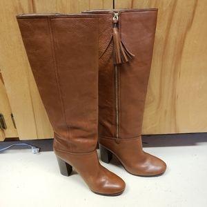 COACH - Tall Boots with Tassels - 10B